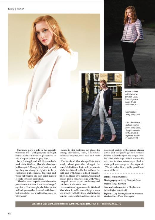 Editorial - Yorkshire Living Magazine