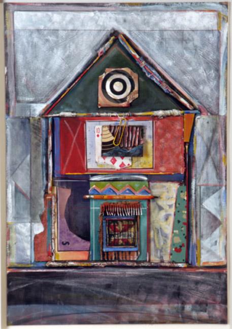 "Hunters House / 22""H x 15""W / 1996"