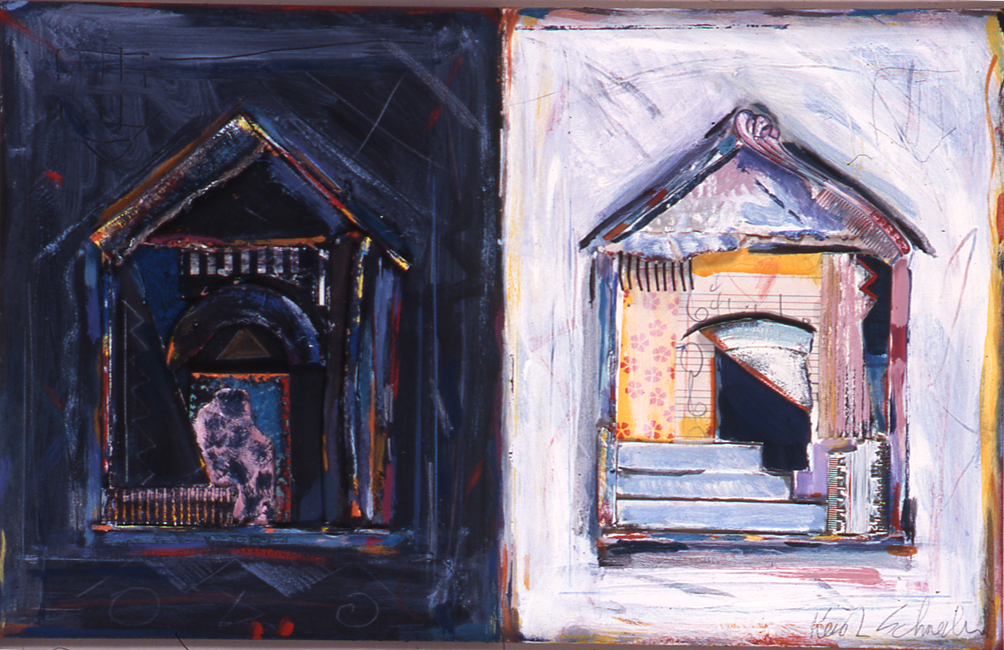 "Night and Day / 12""H x 18""W / 1998"