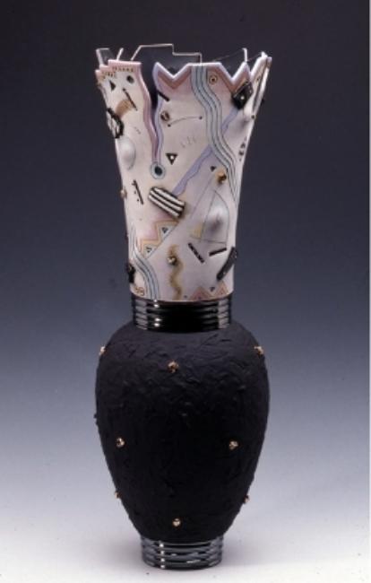 "Vase Form / 22""H x 8""W / 1988"