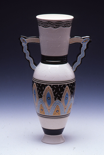 "Vase Form / 22""H x 9""W / 1988"