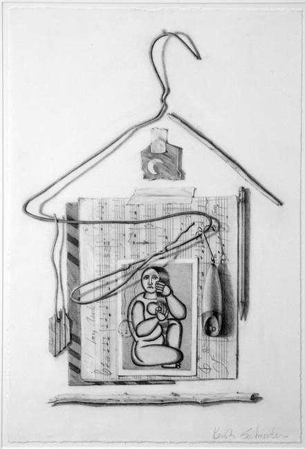 "Paper Moon / 22""H x 15""w / 1993"