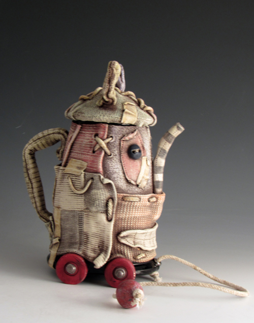 Pull Toy Teapot