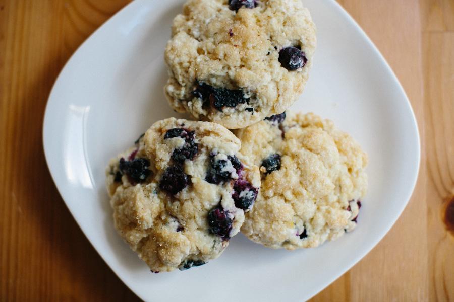 Blueberry Lemon Cardamom Scones // Becca Bakes (www.becca-bakes.com)