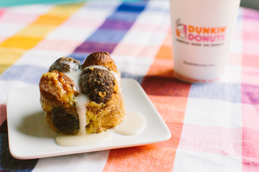Munchkin Bread Pudding // Becca Bakes (www.becca-bakes.com)