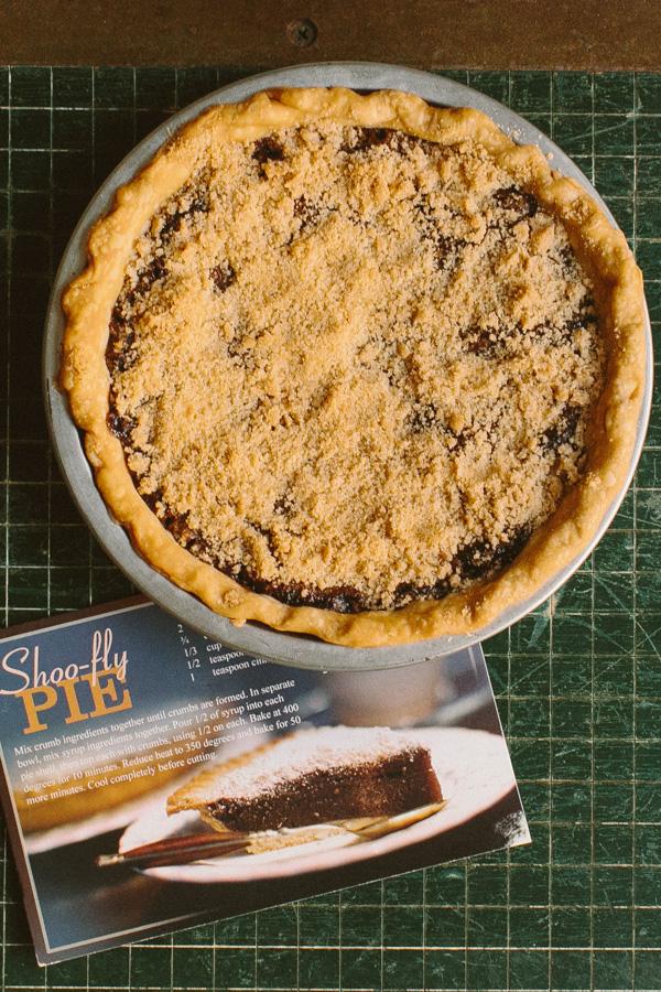 Shoofly Pie // Becca Bakes (www.becca-bakes.com)