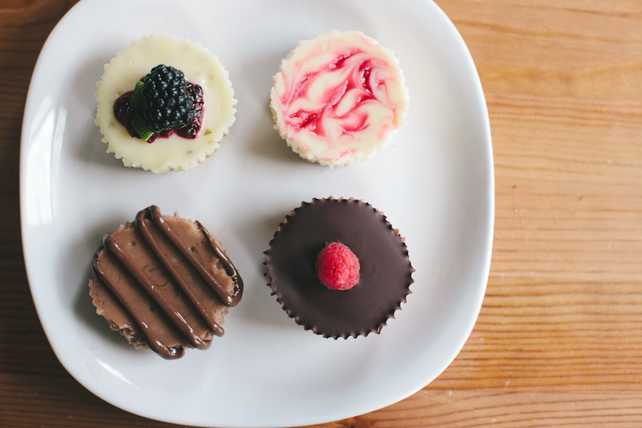 Assorted Mini Cheesecakes | Becca Bakes (www.becca-bakes.com)