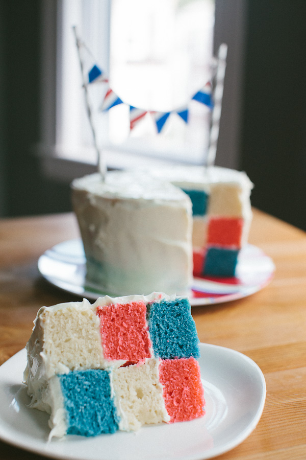 Checkerboard Cake | Becca Bakes (www.becca-bakes.com)