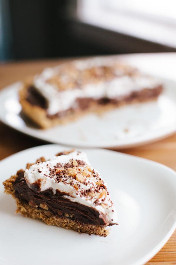 Taza Chocolate Pudding Pie | Becca Bakes (www.becca-bakes.com)