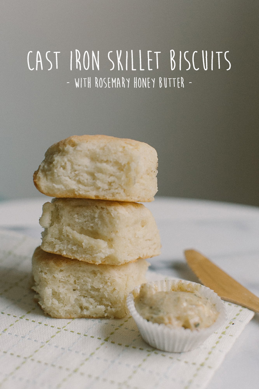 Cast Iron Skillet Biscuits | Becca Bakes (www.becca-bakes.com)