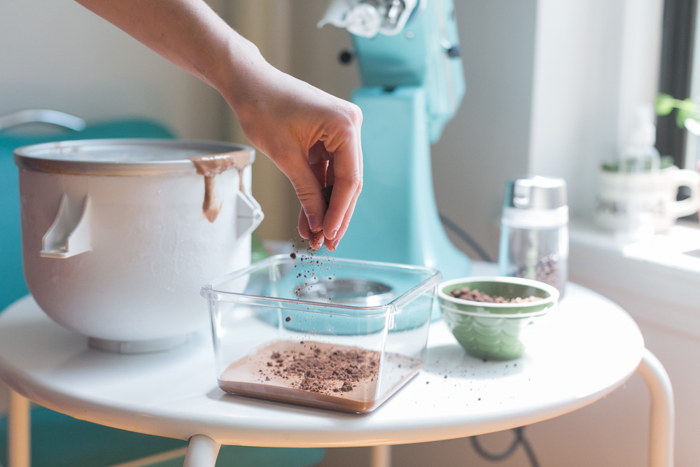 Chocolate Trinity #icecreamforoxo | Becca Bakes (www.becca-bakes.com)