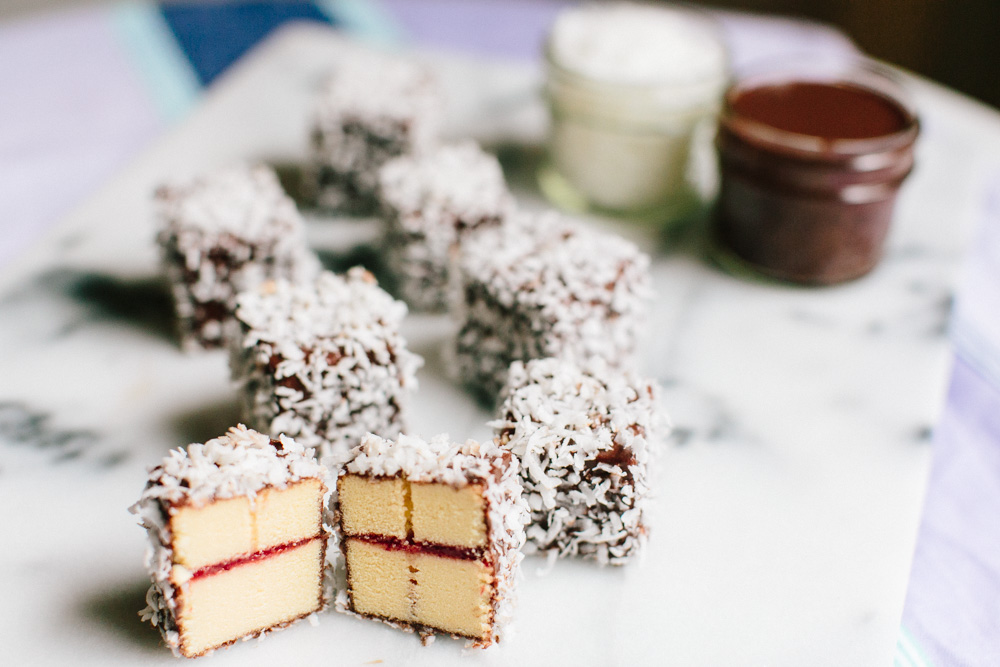 Easy Australian Lamingtons Recipe | Becca Bakes (www.becca-bakes.com)