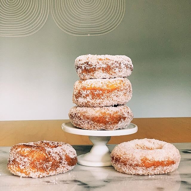 RapidRise Sugar Doughnuts are this weeks #pandemicbakeclub treat. ??