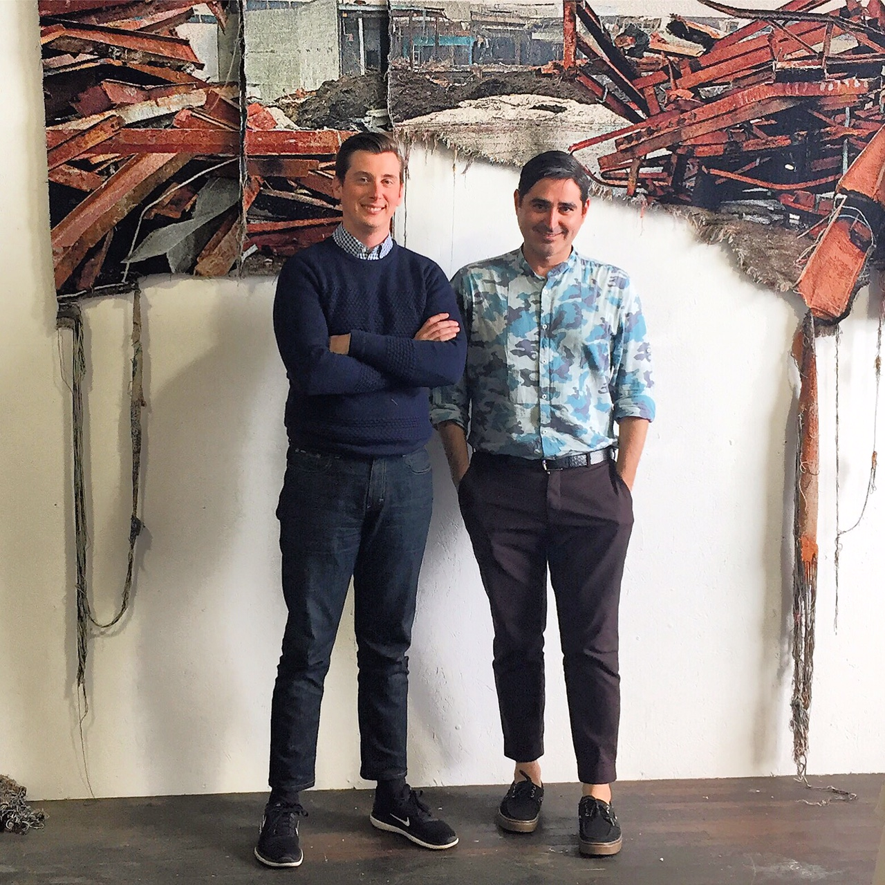 MOCA Cleveland's Visiting Curator Award Program   September 2017 awarded MOCA studio visit with Jose Carlos Diaz, Chief Curator at The Andy Warhol Museum and MOCA Curator, Will Brown.   https://www.mocacleveland.org/programs/visiting-curator