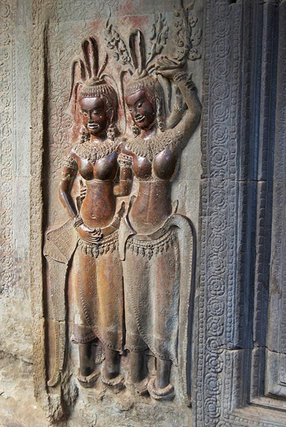 Aspara Dancing Girls - Ankor Wat Caambodia.jpg