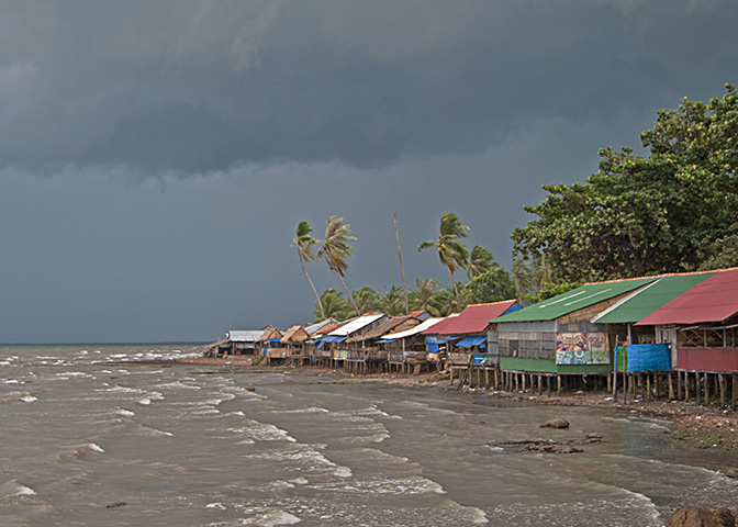 Fishing village of Kep and approaching storm - Cambodia copy.jpg