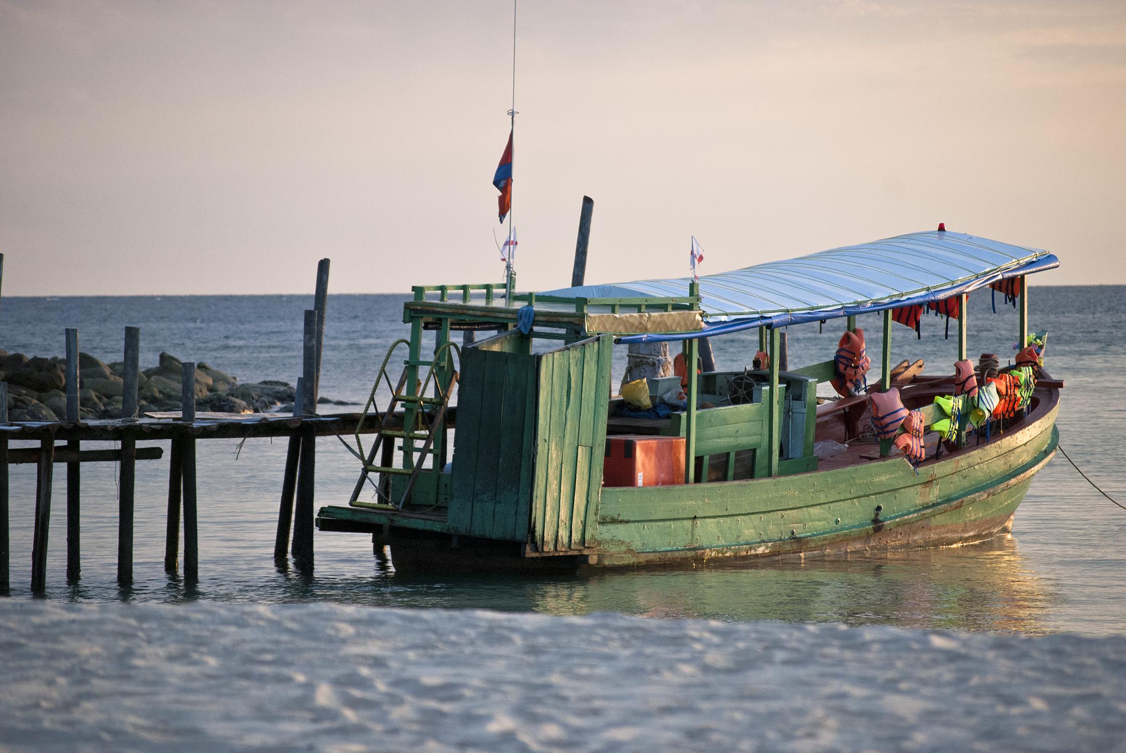 Lazy Beach Boat