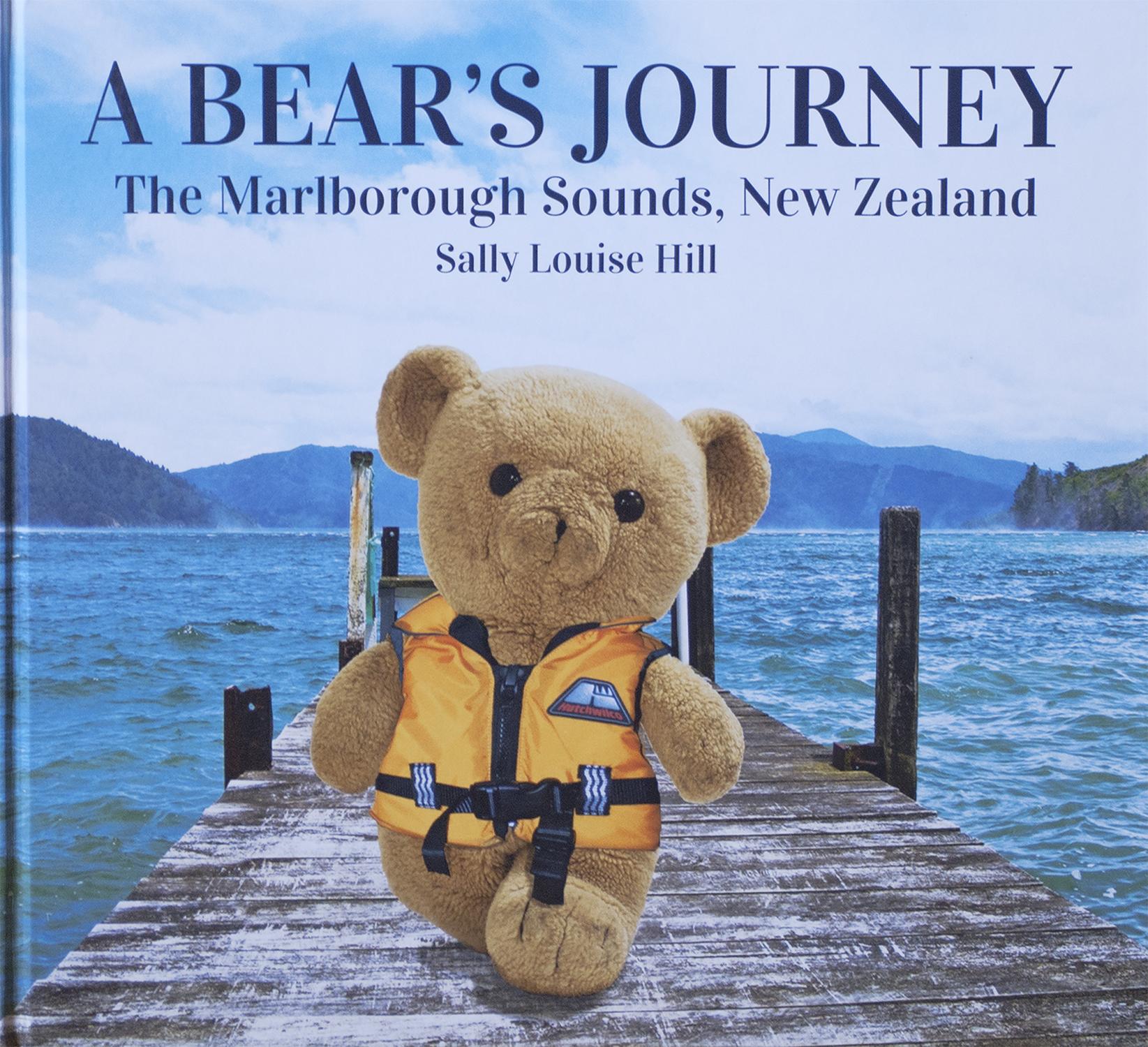 A Bear's Journey - The Marlborough Sounds, New Zealand   NZ$34.95