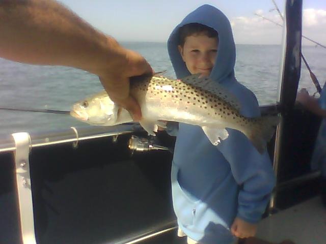 Fishing so good even a 6 year old can do it!