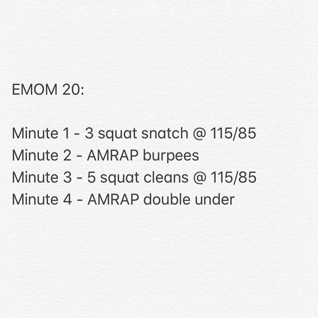 Tomorrow's workout brought to you by @enzogmp ! Hope to see you all there!