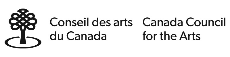 I acknowledge the support of the Canada Council for the Arts