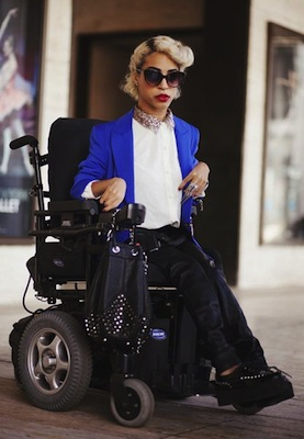 Fashion blogger Jillian Mercado. (Danny Roche / alt-beauty.com)