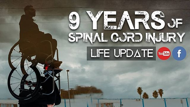 "9 Years Living with a Spinal Cord Injury (SCI)  I felt that it was time to provide an update after living with a spinal cord injury for 9 years. It took some time to muster up the courage to get back to this but I do hope it connects with those who relate to my message!  Thank you for watching! Anything you want me to share? Let me know! ""Don't let the opinions and attitudes of the few, determine your steps to make the change towards what you dream FOLLOW ME: YouTube: www.youtube.com/angl747 Facebook: www.facebook.com/andrew.angulo Website: www.andrewangulofilmandphoto.com Biz contact: DisabledLifeMedia@gmail.com  #youtube #youtuber #filmmaker #spinalcordinjury #spinalcordinjuryawareness #curemedical #Triumphoversci  #paralysis #disabled #recovery #film #vlogger #wheelchair #paraplegic #triumph #adaptive #dslr #dslrfilmmaking"