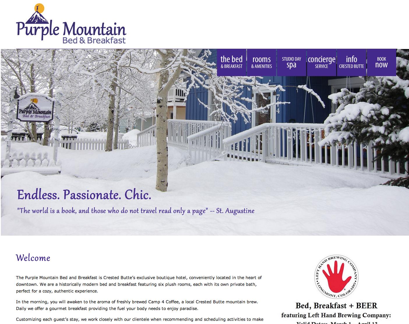 Purple Mountain B&B