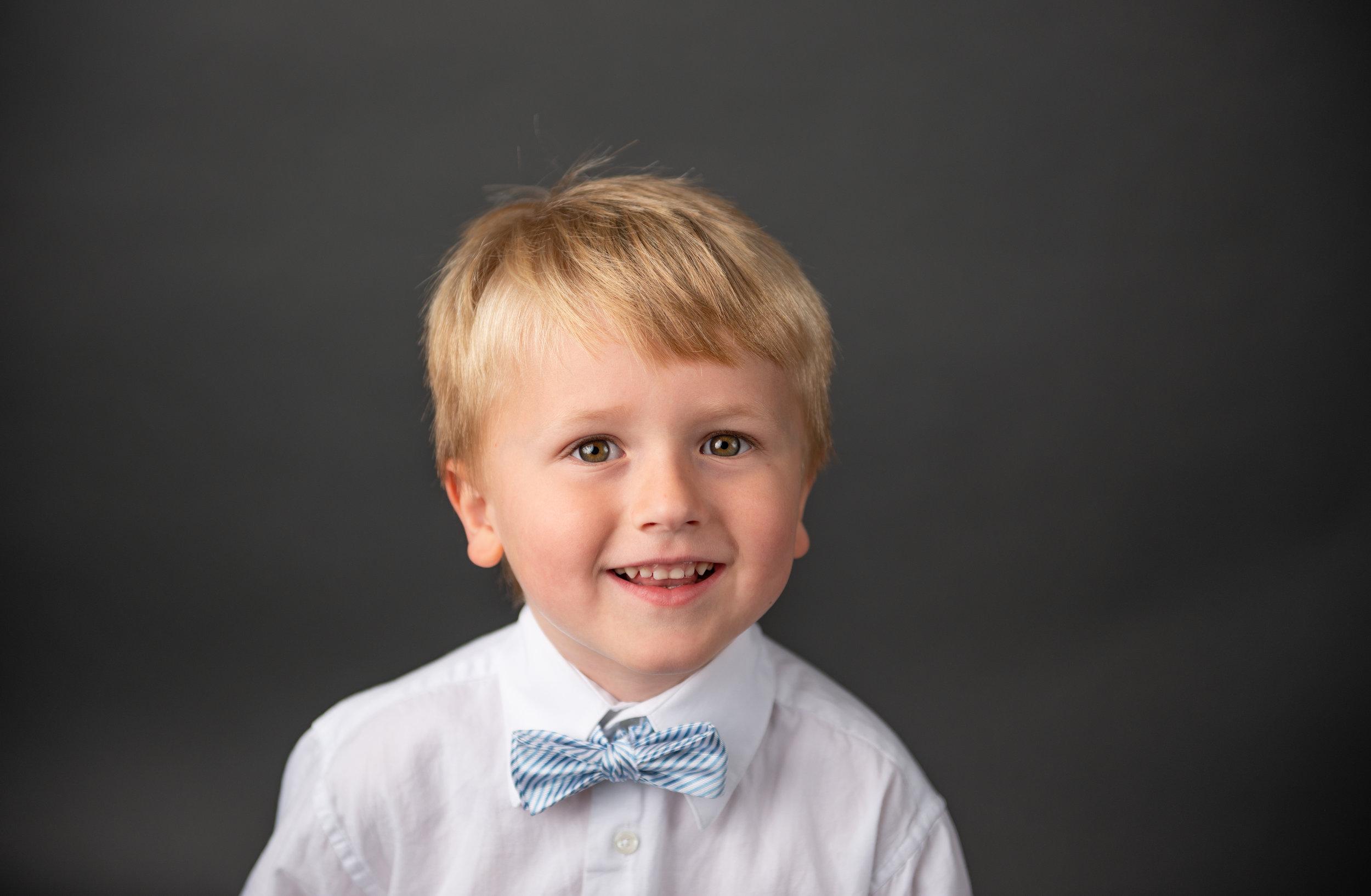 little boy preschool photo bow tie