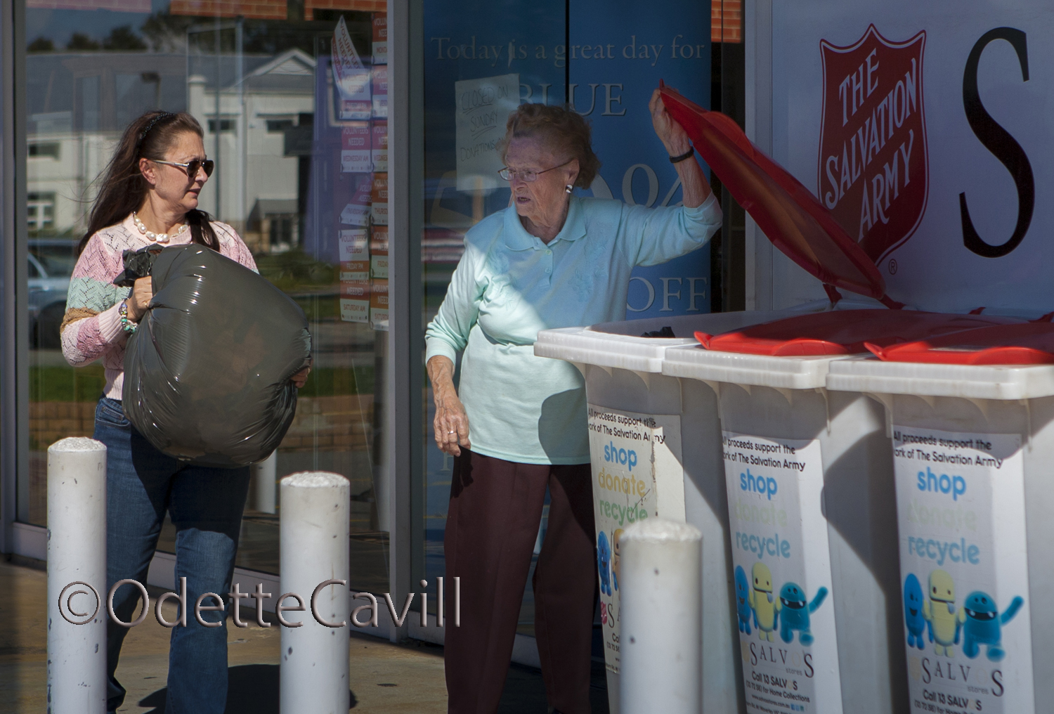 The Busines of Recycling - Charities receive hundreds of thousan