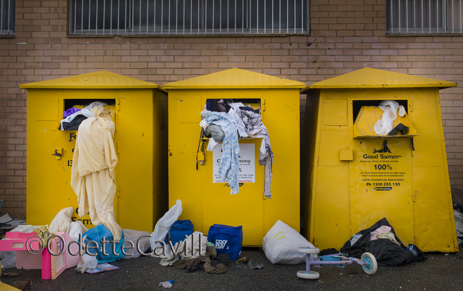 The Busines of Recycling - Early morning and the charity donatio