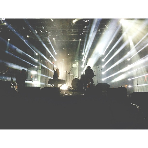 front row at beach house. one of my absolute favourite moments ever.
