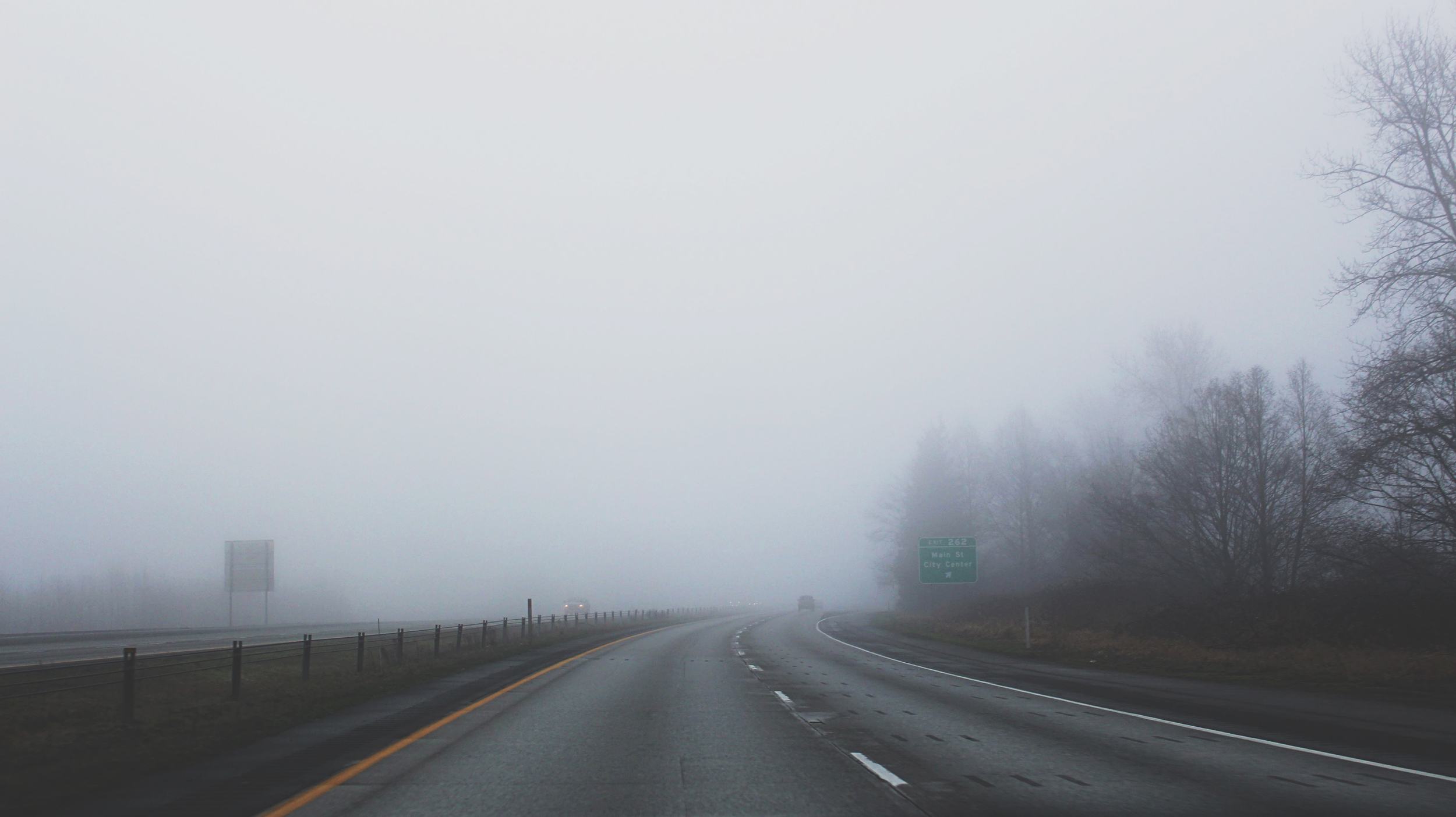 Misty Freeway