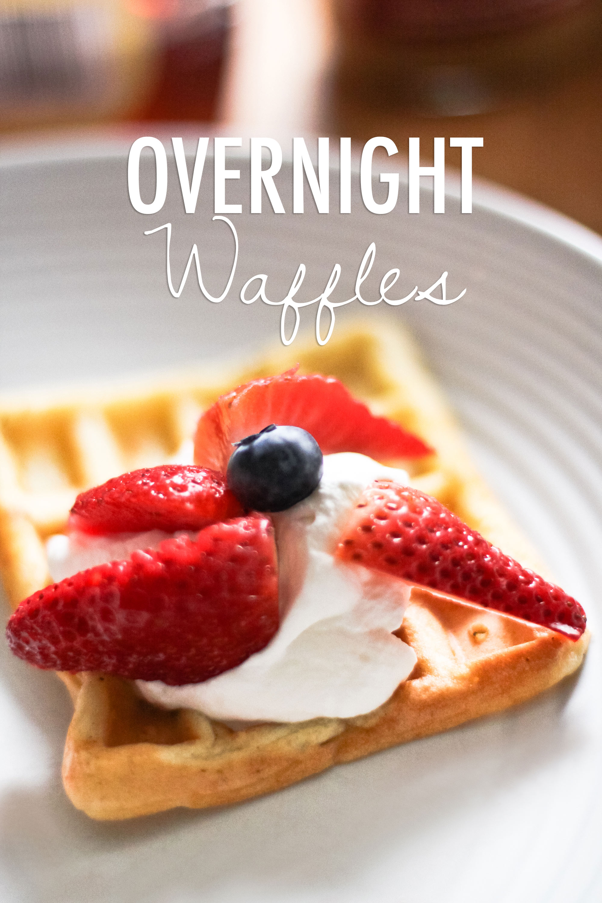 overnight waffles from ssheart.com