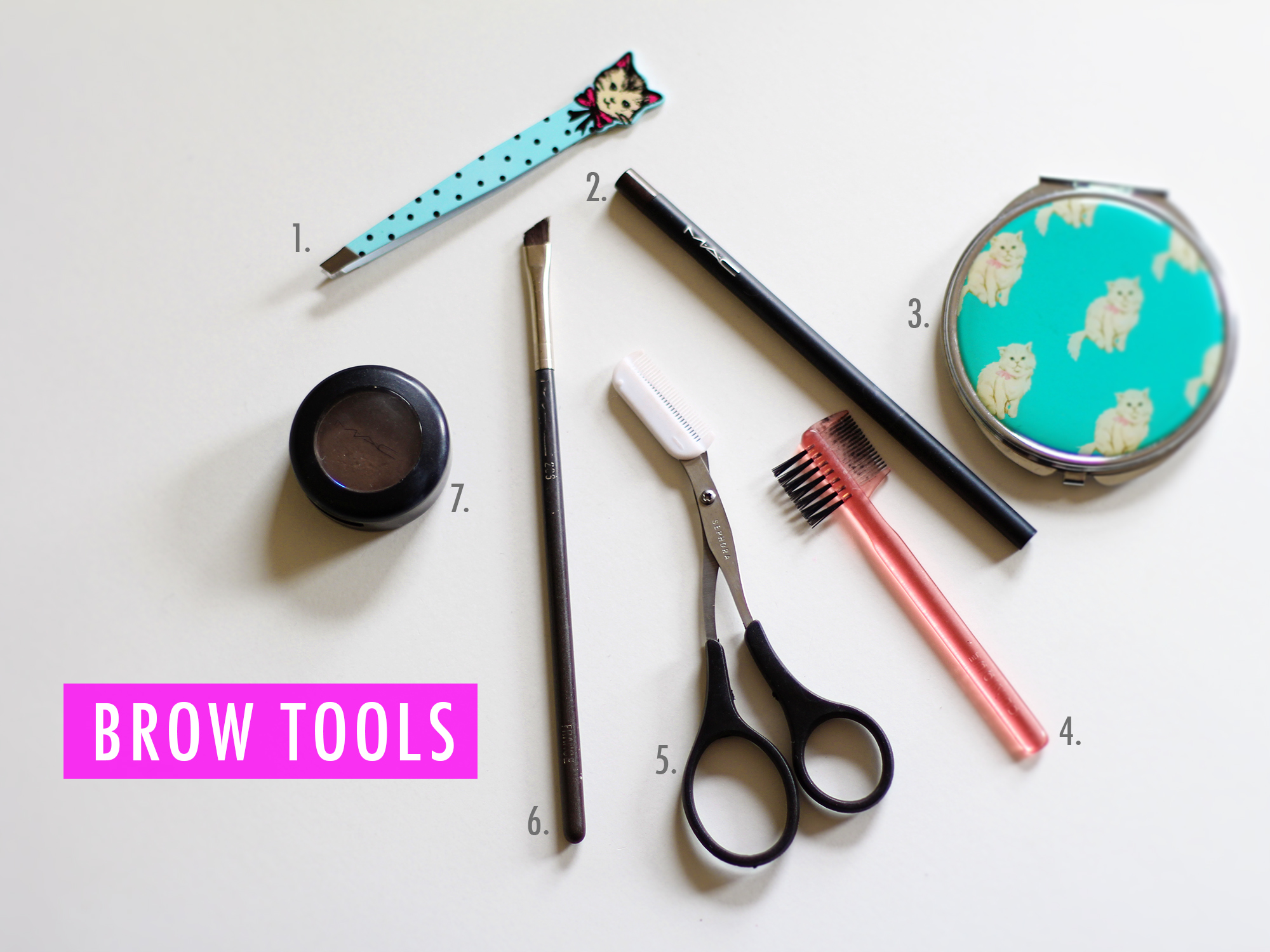 TOOLS FOR BROWS // S.S. Heart
