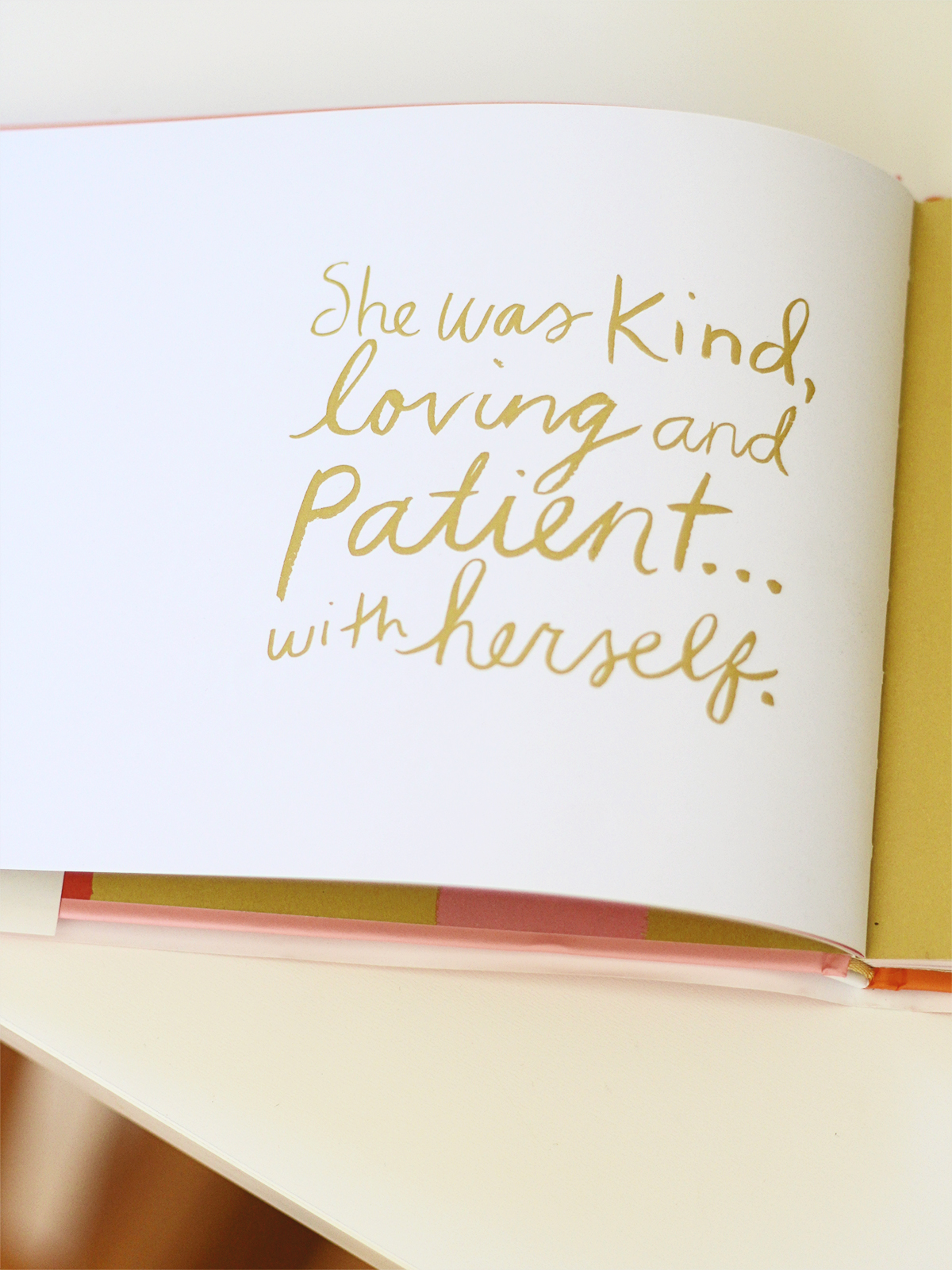 It's time to be kind, loving & patient with ourselves.