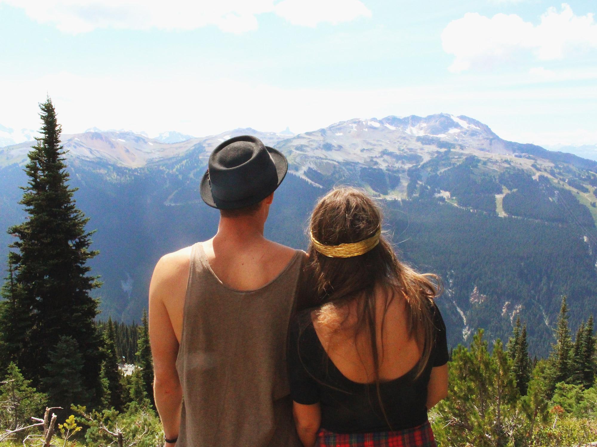 Mountain top bliss