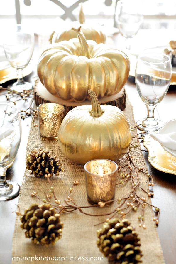 Thanksgiving Decor Idea