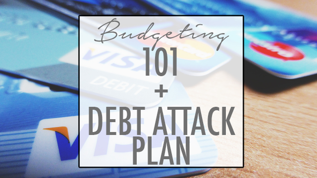 Tips on learning how to budget and getting out of debt!