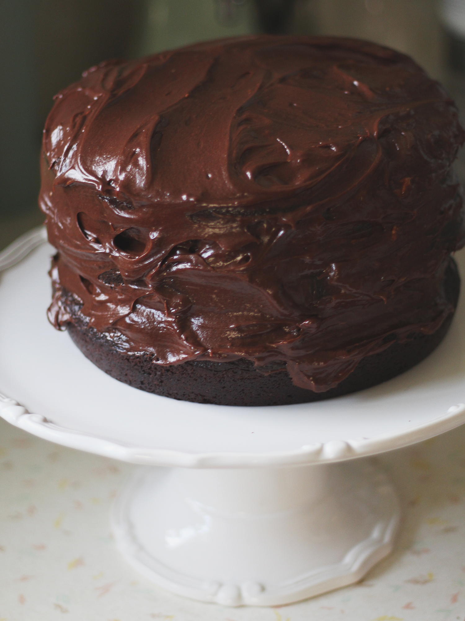 Rich & delicious chocolate cake
