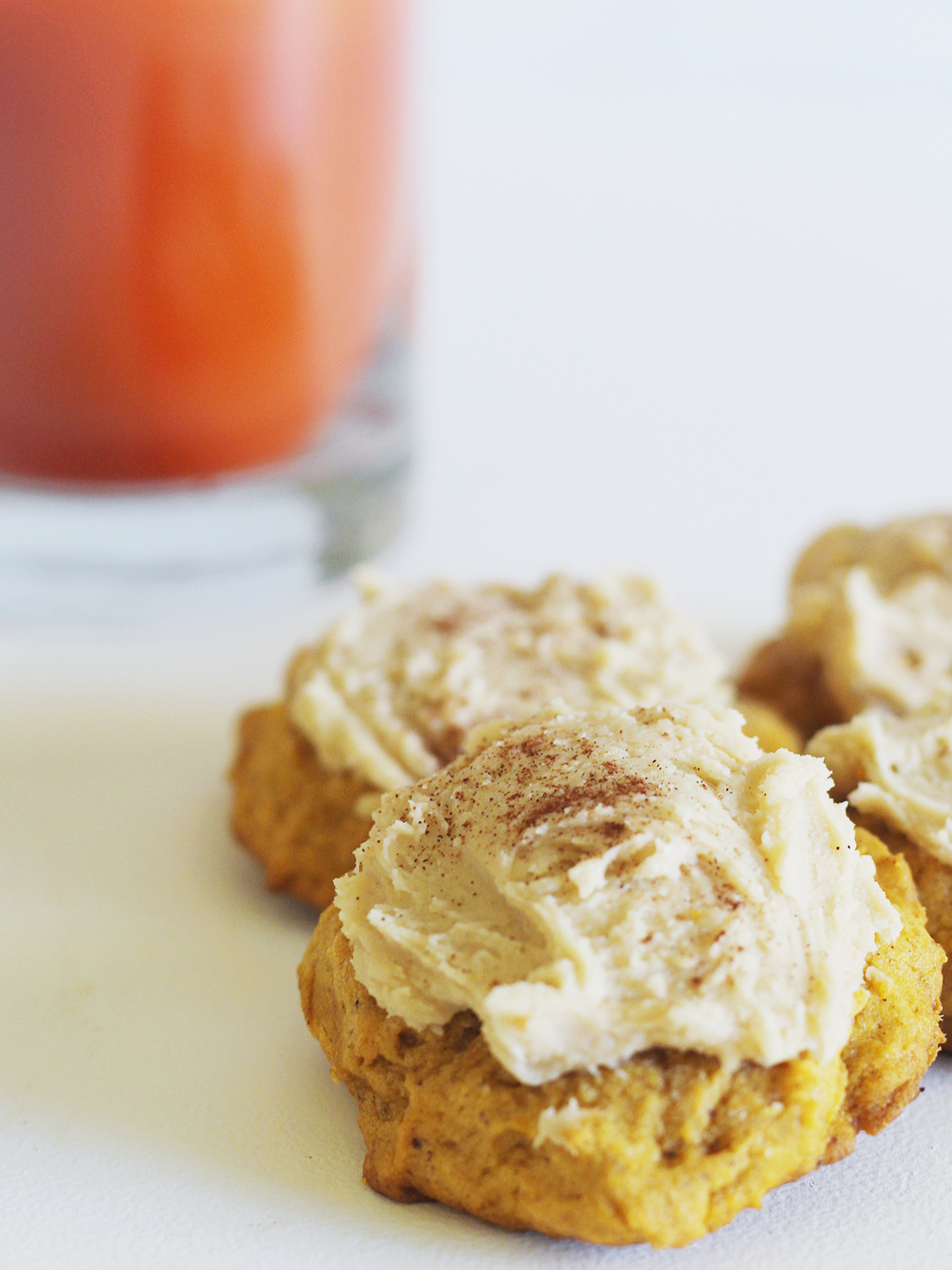 melt in your mouth pumpkin cookies!