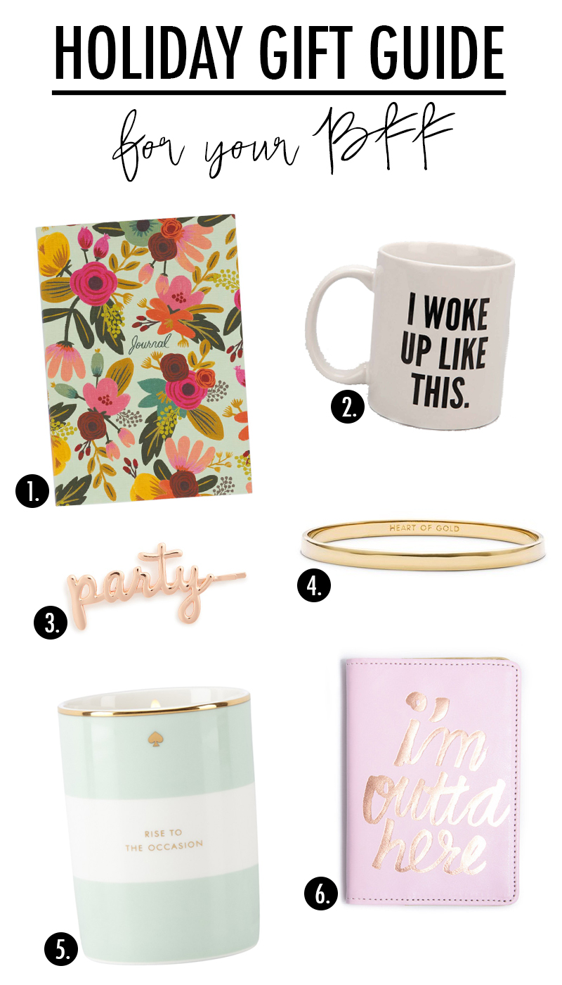 The perfect gift ideas for your BFF!