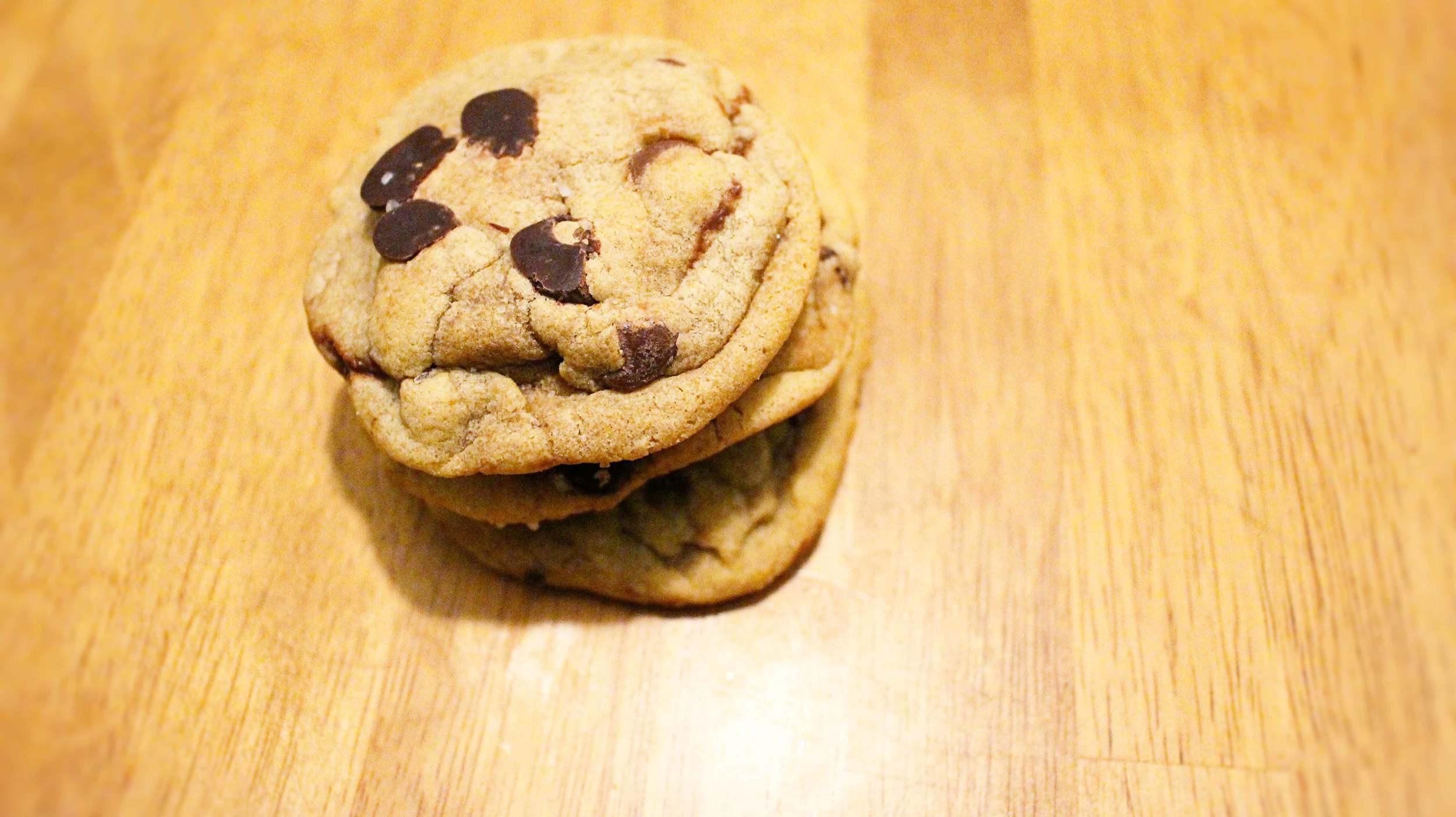 Nutella stuffed cookies!