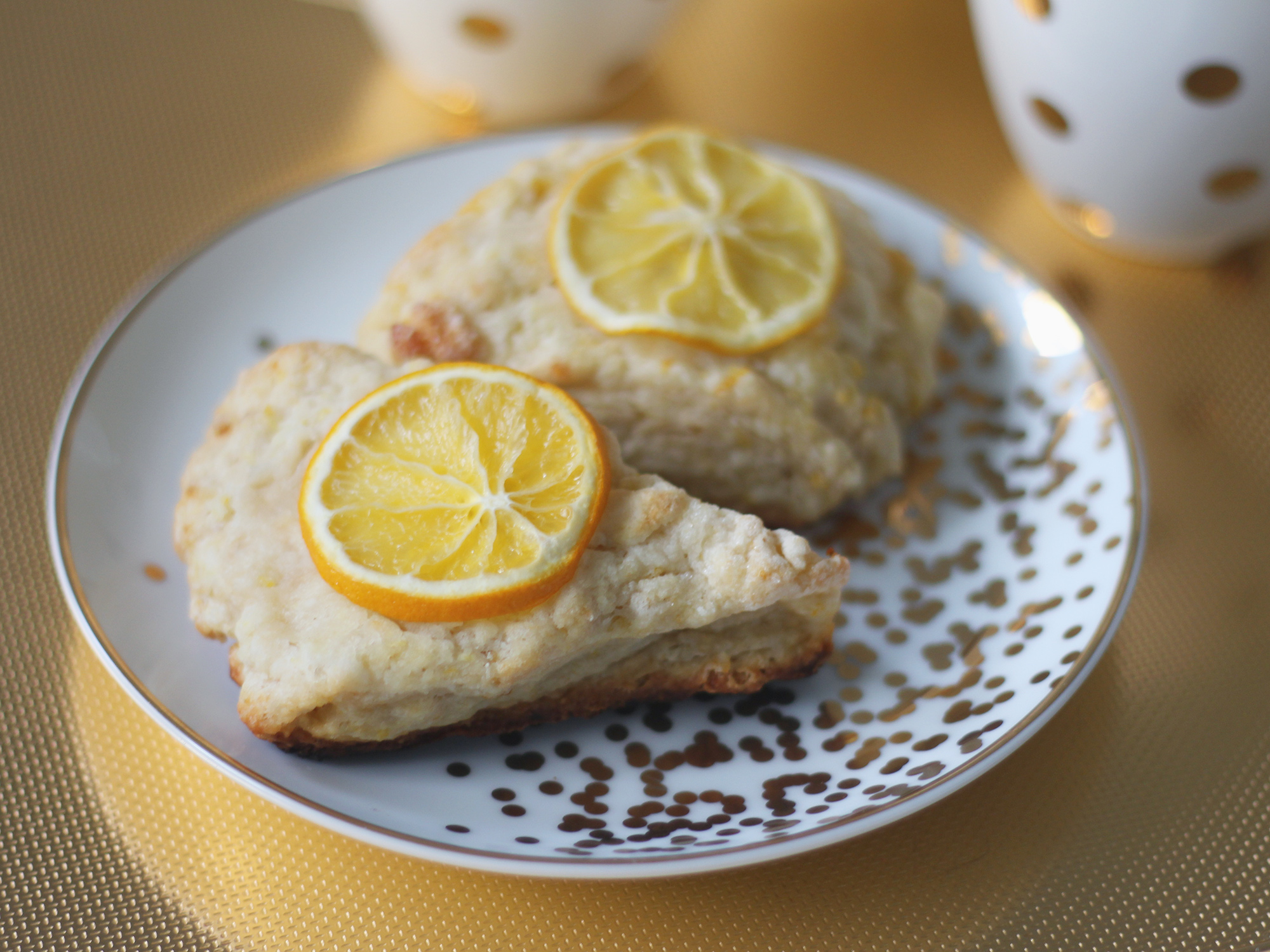 meyer lemon scone recipe
