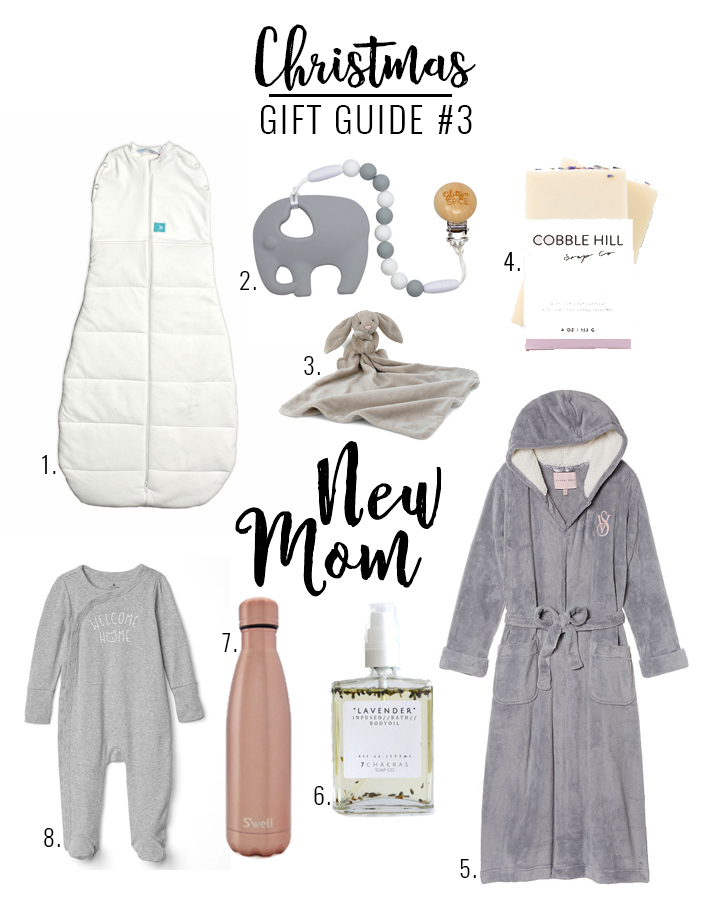 Gift Guide for the new mama!
