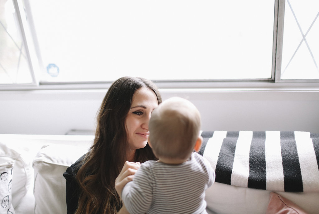 Mother & baby boy photoshoot