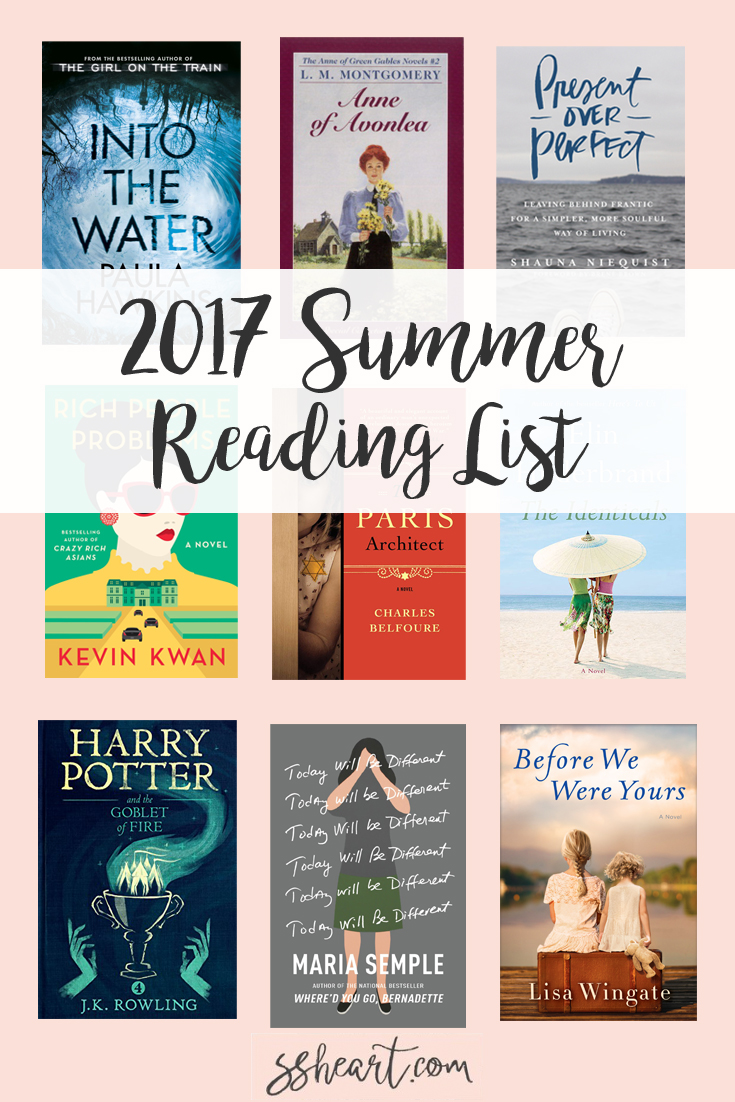 The must read books for summer 2017