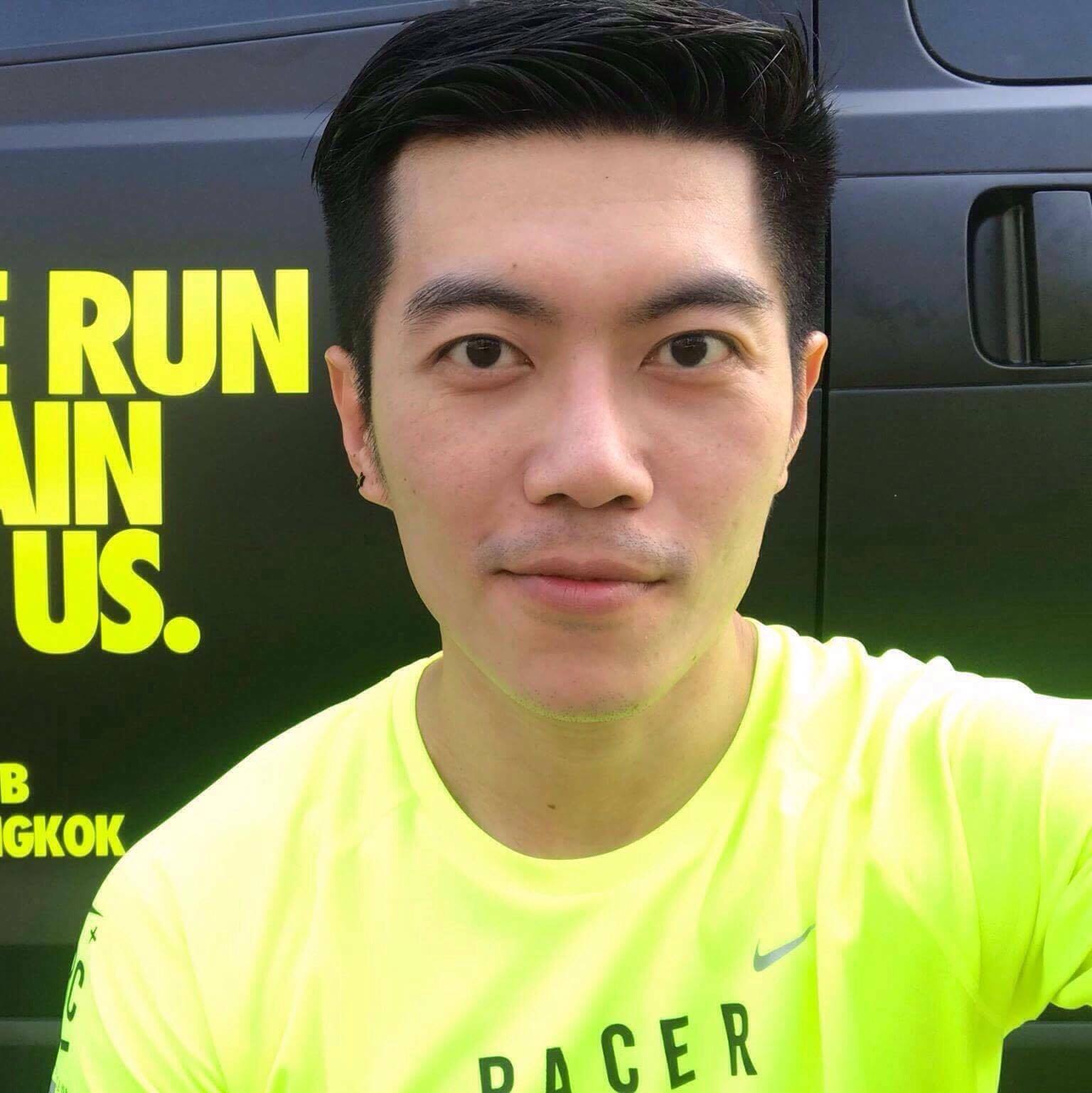 """Pluert   """"Pete"""" Lertsukittipongsa   Project manager   A runner who loves challenge and money."""