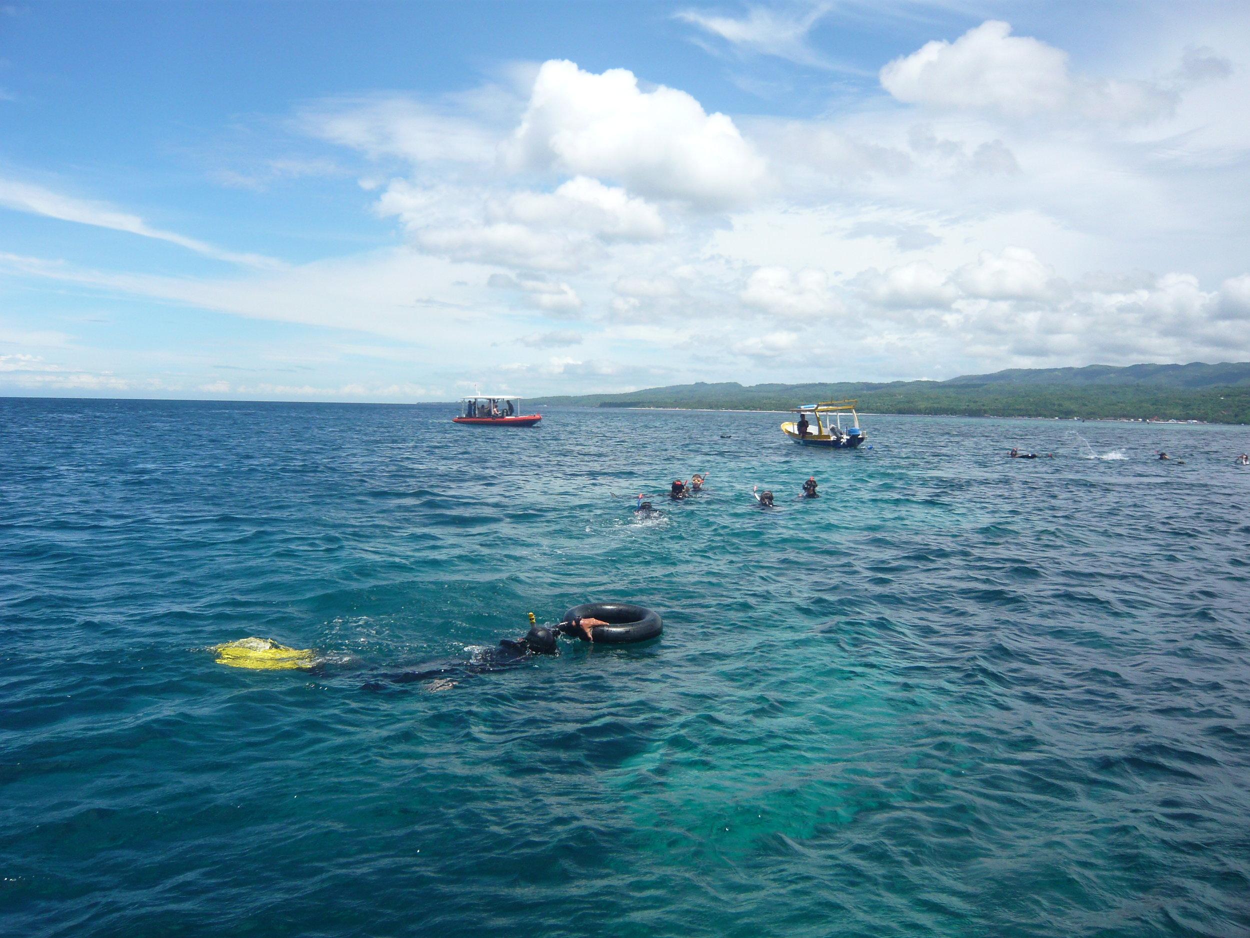 Bali, Snorkeling, Student, Life Ring.JPG