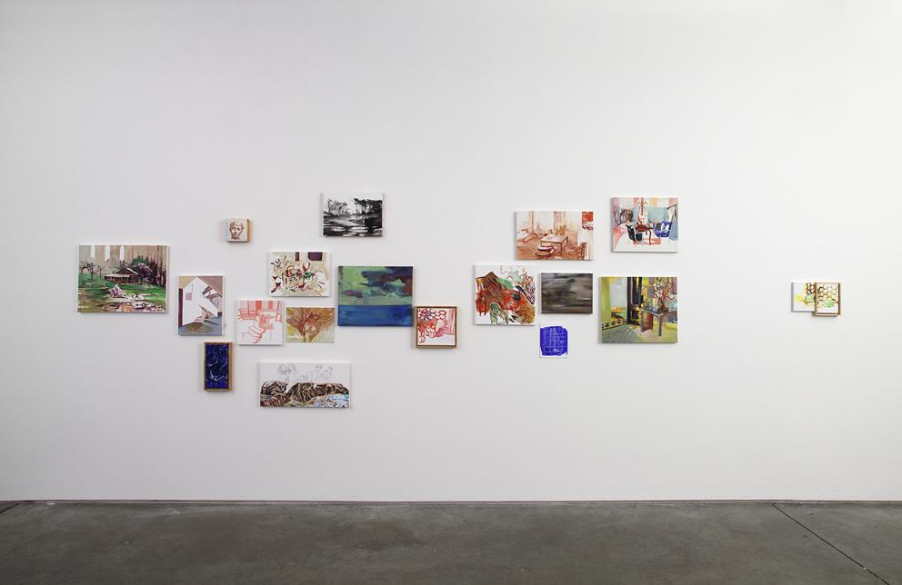 <Fantasma> section, Installation view at DOOSAN Gallery New York, New York, 2012